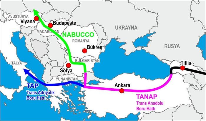 TANAP-la Türkiyəyə ilk kommersiya qazının tədarükü başladı