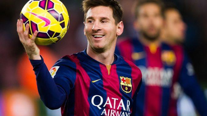 Messi 1000-ci qolunu vurdu