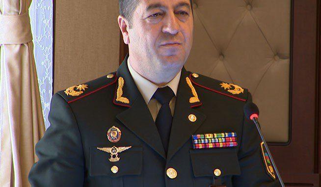 Naxçıvanın daxili işlər naziri general – leytenant oldu