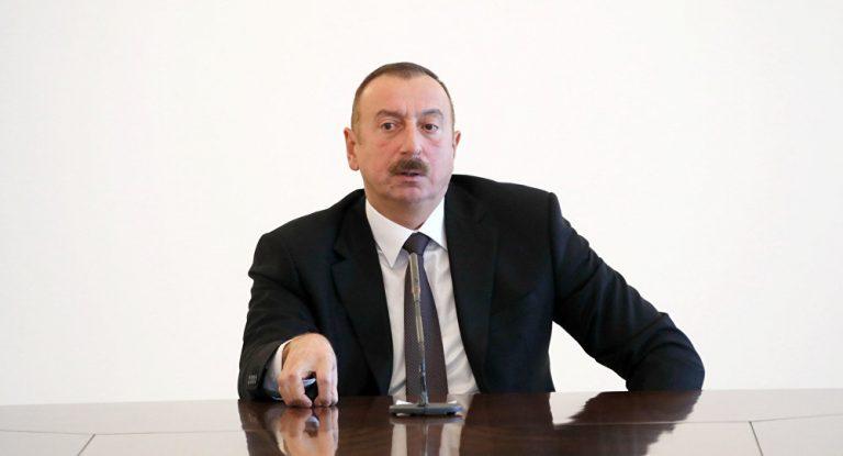 """İlham Əliyev: """"Tələb edirik ki, torpaqlarımız azad edilsin"""""""