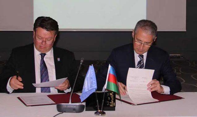 Yeni nazir ilk memorandumunu imzaladı – Fotolar