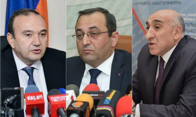 Ermənistanda daha 3 nazir istefa verdi