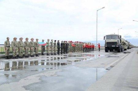 Naxçıvan Ordusu Türkiyə ilə birgə təlimlərə başlayır