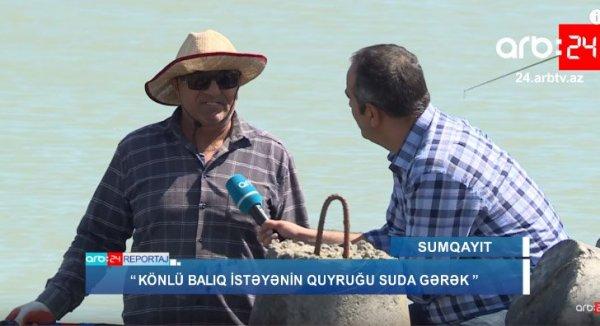 """""""Könlü balıq istəyənin quyruğu suda gərək"""" – Sumqayıt bulvarından REPORTAJ"""