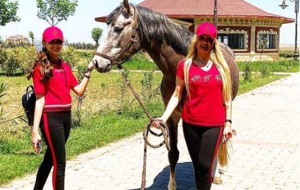 Məleykə Əsədovaya 200 minlik ərəb atını kim hədiyyə edib? – FOTO-V