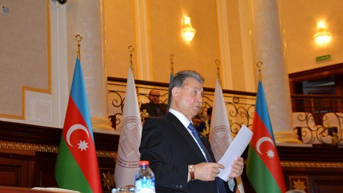 Akif Əlizadə yenidən AMEA prezidenti seçildi