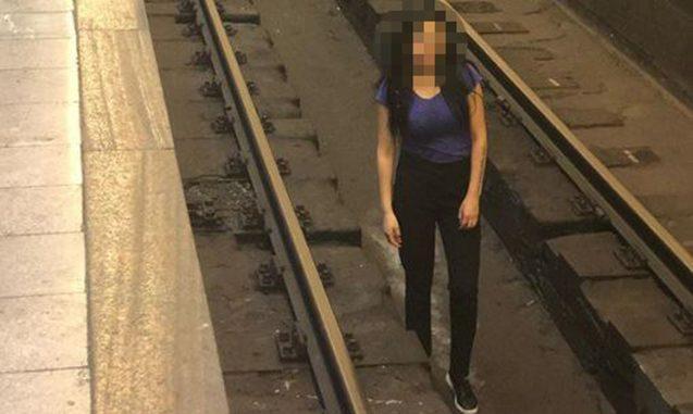 Metroda belə şəkil çəkdi – Hamı ondan danışır