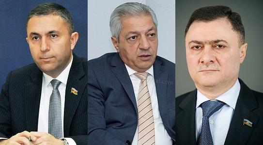 Daha üç deputat yeni vəzifəyə seçildi
