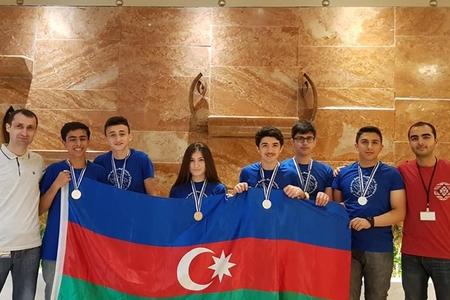 Şagirdlərimiz Balkan Riyaziyyat Olimpiadasında böyük uğur qazanıblar – FOTOLAR
