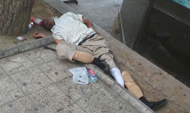 Qarabağ qazisi, yoxsa dilənçi? – Bu foto hamını kövrəltdi…