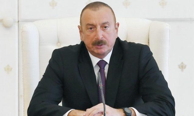 Prezident İlham Əliyev Qazaxıstanın Aktau şəhərinə səfərə gəlib