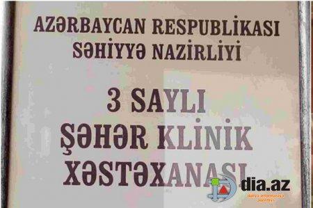 """""""Ölüxana"""" adı alan 3 saylı Şəhər Klinik Xəstəxanası – İTTİHAM"""