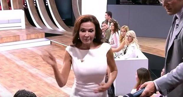 Məşhur aktrisa efirdə tamaşaçını sillələdi