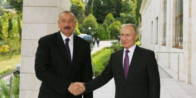 İlham Əliyev Soçidə Putinlə görüşdü – FOTOLAR