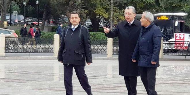 Bakının yeni meri şəhər gəzintisinə çıxıb, göstərişlər verdi – FOTO