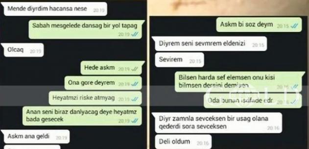 """Azərbaycanda ŞOK – Ana 17 yaşlı qızının sevgilisi ilə mesajlaşdı – """"Aşkım…"""""""